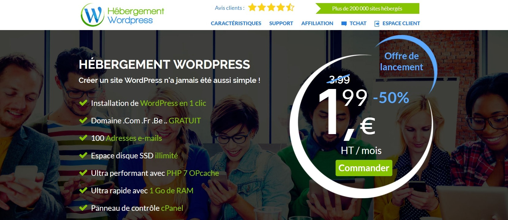 hebergement-wordpress